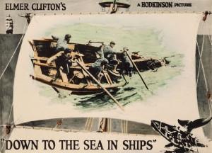 По морю на кораблях фильм 1922