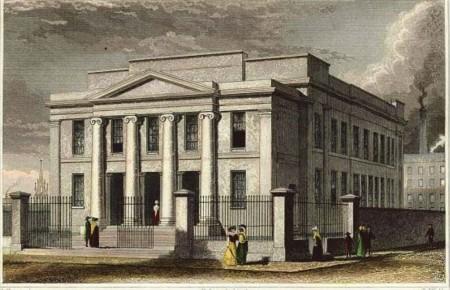 квакерский дом собраний на маунт-стрит, манчестер