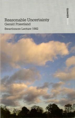 """Обложка книги Джеральда Пристленда """"Разумная неопределенность"""". Свортморская лекция 1982 года."""