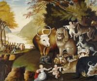 Картина «Мирное царство», Эдвард Хикс. пророки