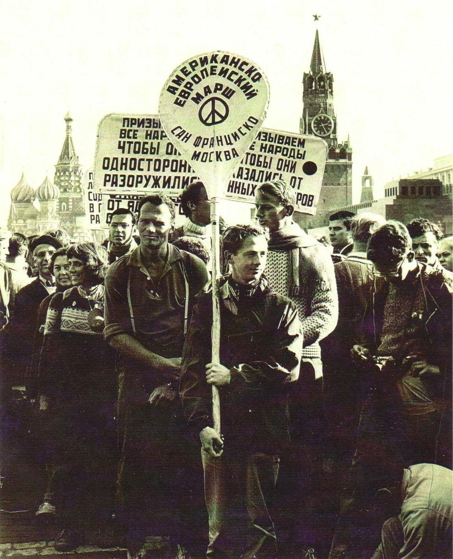 Американско-советский поход за мир, Сан-Франциско — Москва, 1960-61 годы