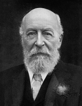 Джордж Кэдбери. Фото 1917 года.