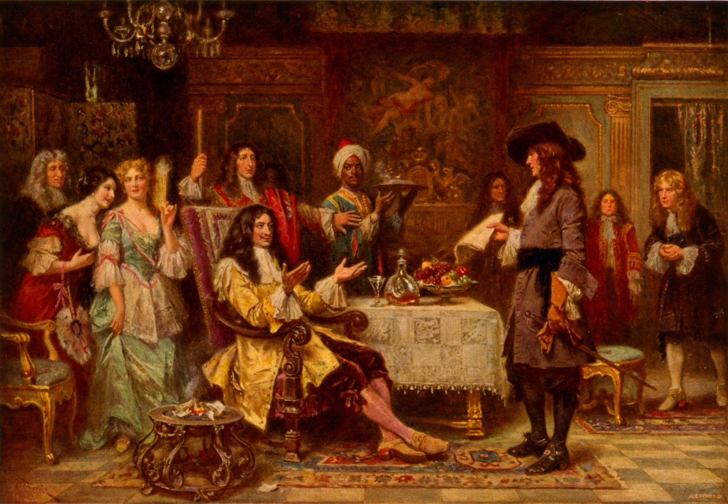 «Рождение Пенсильвании, 1680». Жан Леон Жером Феррис. 1910