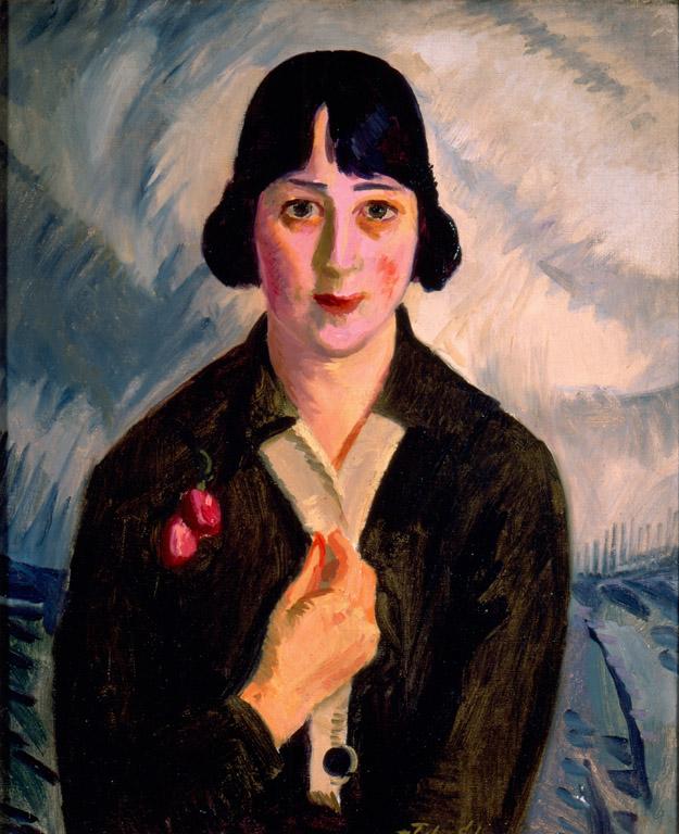 «Квакерша Нелл (Хелен М.Тейлор)». Джон Слоан. 1916