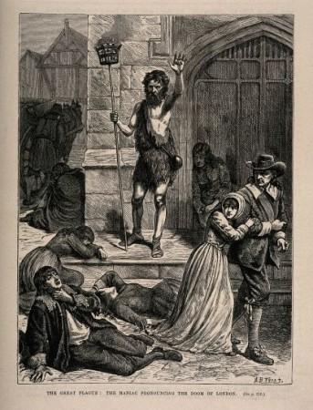 Великая чума: безумец, предрекающий гибель Лондона (к трактату Сары Джонс)