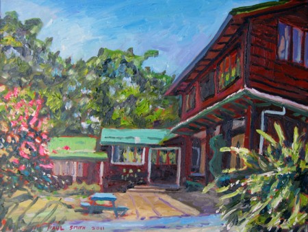 «Квакерский дом собраний в Монтеверде». Пол Смит. 2011 год