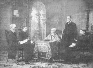 """Джоэл Бин с родственниками. Фото к статье """"Бинитское квакерство"""""""