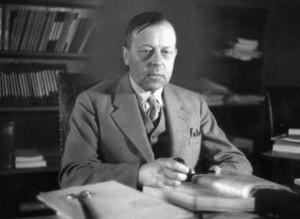 Гуннар Ян (Gunnar Jahn), председатель Нобелевского комитета в 1947 году. Нобелевская премия мира.