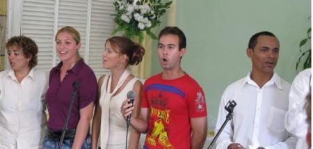 поют кубинские квакеры