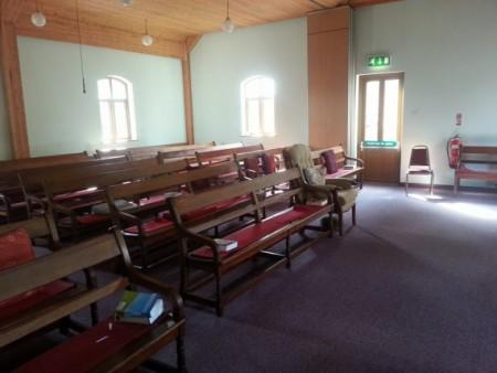 на собрании квакеров