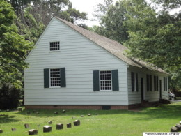 Third Haven Meeting House, exterior