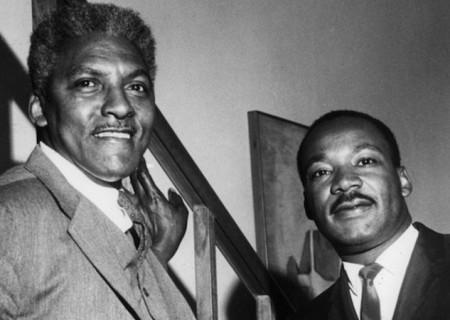 Растин Байард и Мартин Лютер Кинг