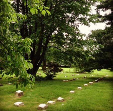 Юго-западное кладбище Друзей. Пенсильвания. В вечном покое.