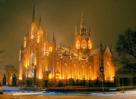 Кафедральный Собор Непорочного Зачатия Пресвятой Девы Марии в Москве. католичество
