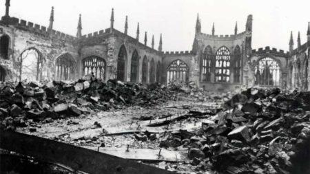 Руины собора Святого Михаила в Ковентри. Пасхальные размышления