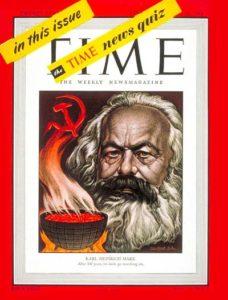 """Обложка одного из номеров журнала """"Тайм"""", 1948 г."""