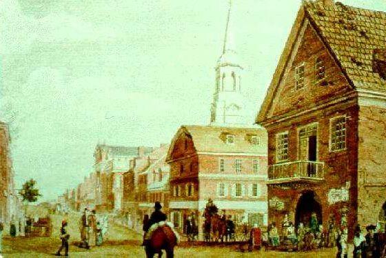 Филадельфия в середине XVIII века