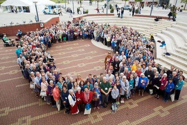 Участники встречи Британского годового собрания. 2017 год