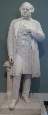 Джон Брайт. Мраморная статуя работы Альберта Джоя