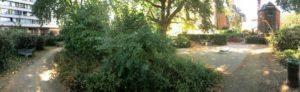 Сквер «Квакерские сады» в Ислингтоне