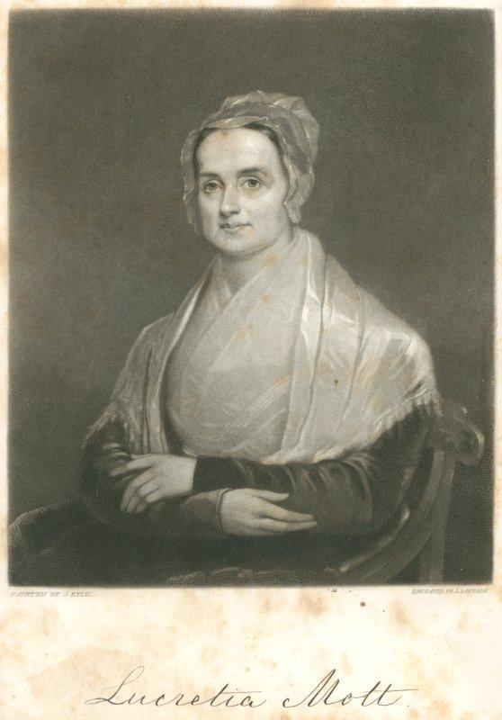 Лукреция Мотт на картине Джозефа Кайла