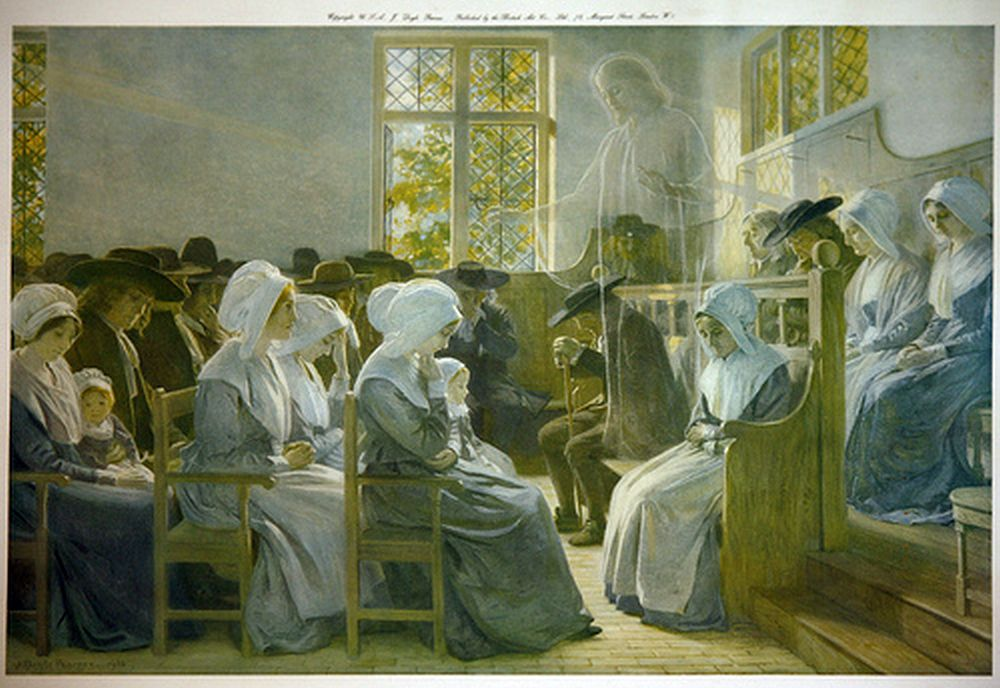 «Присутствие среди нас». Джеймс Дойл Пенроуз. 1916