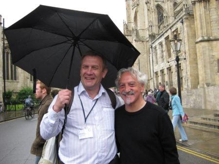 Харви Гиллман (автор) и Сергей Никитин (переводчик). Йорк, 2009 г.