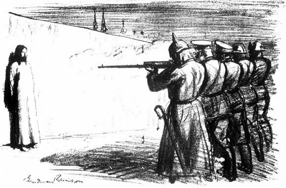 """Дезертир"". Бордман Робинсон, 1916 год. Мирные церкви"