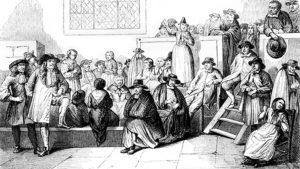 Квакерское собрание в XVIII веке. Вероучение