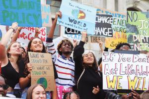 Учащиеся Школы Джорджа участвуют в молодежной экологической акции в Филадельфии