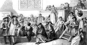 Квакерское собрание в XVIII веке. Отблеск рая на земле. Первые квакерские общины