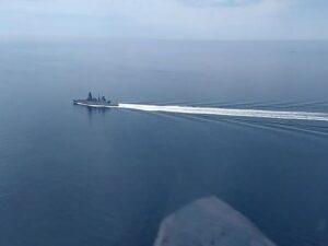 """Британский военный корабль """"Дефендер"""". Операция около Крыма"""